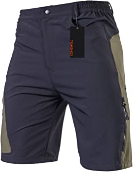 Tomshoo Mens Baggy Cycling Shorts