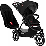 Phil&Teds Sport Buggy Stroller with Double Kit V5 - Black | SPORTPR-V5-5