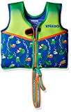 Speedo Kids UPF 50+ Begin to Swim Printed Neoprene Swim Vest, Sapphire Blue