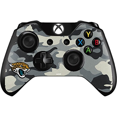 Skinit Jacksonville Jaguars Camo Xbox One Controller Skin - Officially Licensed NFL Gaming Decal - Ultra Thin, Lightweight Vinyl Decal Protection