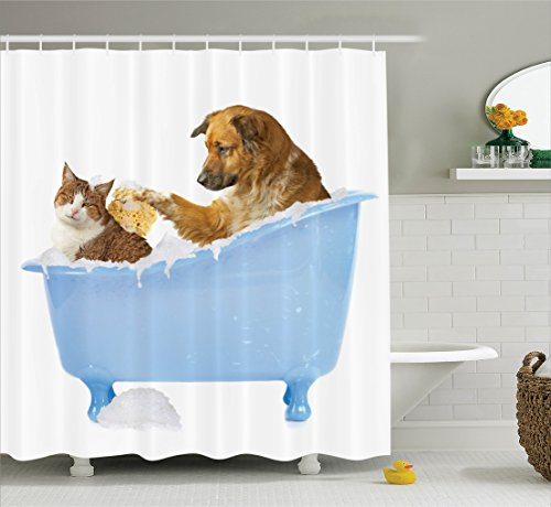 Ambesonne Together Shampooing Bathroom Accessories