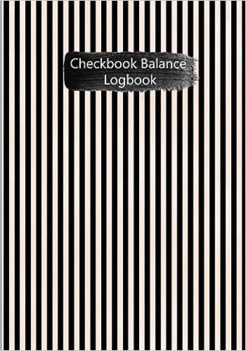 amazon com checkbook balance logbook checking account payment