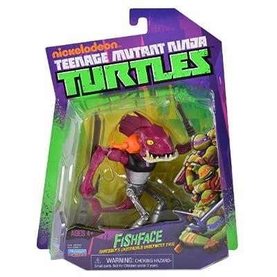 Nickelodeon Teenage Mutant Ninja Turtles, Fishface Action Figure: Toys & Games