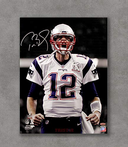 - Kai'Sa Tom Brady Patriots Autographed Replica Poster Art Print Posters,18''×24'' Unframed Poster Print