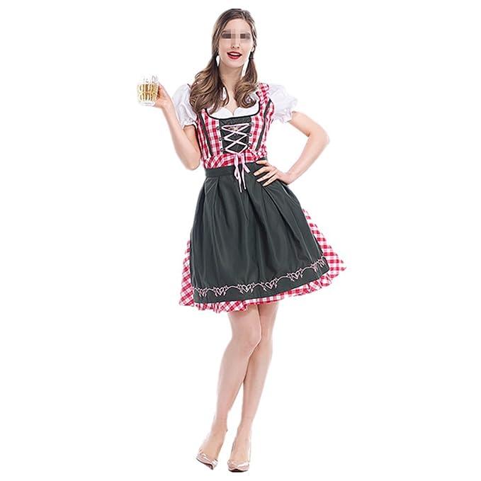 xiemushop Disfraz de bavara Mujer Vestido Cosplay de ...