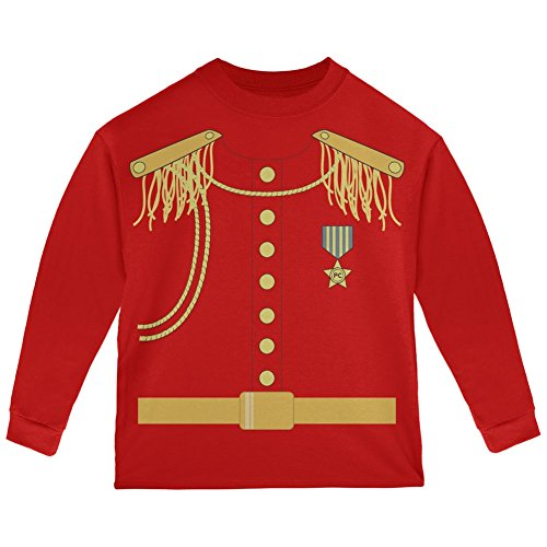 Halloween Prince Charming Costume Red Toddler Long Sleeve T-Shirt - 4T