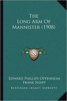 Book The Long Arm Of Mannister (1908)