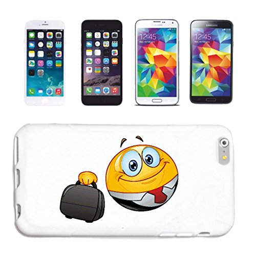"cas de téléphone Samsung Galaxy S4 i9500 ""SMILEY AS homme d'affaires avec SUIT ET CAS ""sourire EMOTICON APP de SMILEYS SMILIES ANDROID IPHONE EMOTICONS IOS"" Hard Case Cover Téléphone Covers Smart Cove"