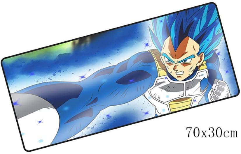 SKTCNB Dragon Ball 700X300 MM Vegeta Mousepad para ...