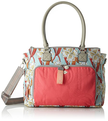 H Turchese light Ornament Turquoise Tracolla Borse T Oilily 15x28x38 Charm X Donna Mhz Cm Diaperbag A b SUxZzq8