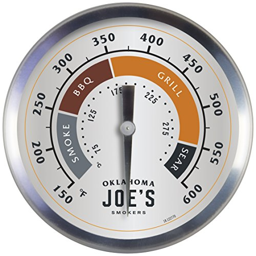 Oklahoma Joe's 3595528R06 Temperature Gauge (Oklahoma Joes Longhorn Combo Grill And Smoker)