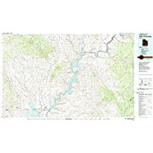 Hite Crossing UT topo map, 1:100000 scale, 30 X 60 Minute, Historical, 1980, updated 1987, 24.1 x 42.1 IN