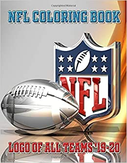 NFL COLORING BOOK / LOGO of all TEAMS \'19-20 (Sports Series ...