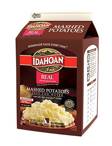 Idahoan Real Mashed Potatoes, 3.24 Pound