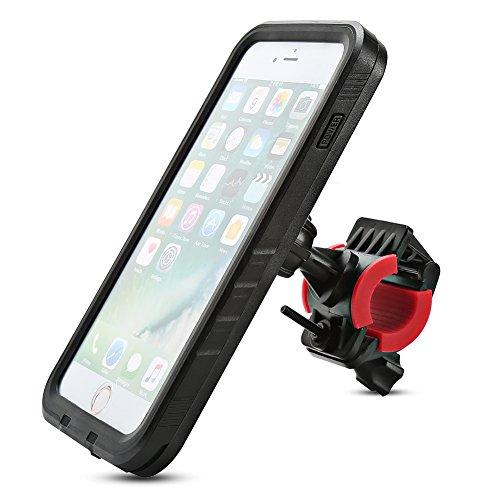 아이폰 7 플러스 방수 케이스, Xiron 회전식 자전거 오토바이 마운..