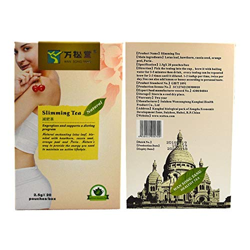 Weight Loss Tea that Works Fast - Slimming Weight Loss Detox Herbal Tea, Natural Quick and Efficient weight loss remedy. SALE 6