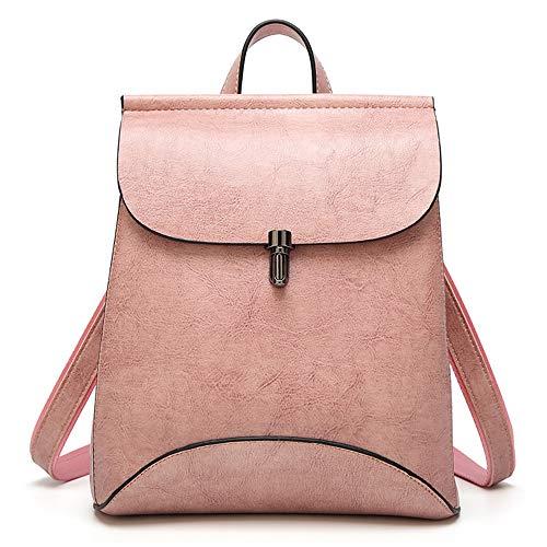 La PU signore a furto scuola Altinovo delle borsa borsa arancio tracolla rosa casual donna borsa pelle in anti Fashion per ragazze Zaino impermeabile wSnSZq87A
