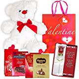 Valentines-Day-Gift-Basket-Set-12-Teddy-Bear-Plush-Lindt-Lindor-Milk-Truffles-Hershey-Kisses-Hazelnut-Ghirardelli-Dark-Strawberry-Chocolate-Almond-Roca-Glass-Rose-Flower-Poem-V-Day-Gift-Bag