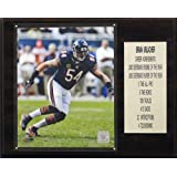 NFL Chicago Bears Brian Urlacher Career Stats Plaque, 12x15-Inch