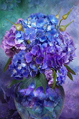 Top 10 recommendation hydrangea in vase diamond painting 2019