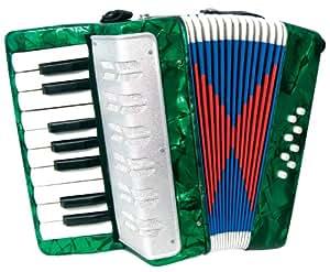 Scarlatti - Acordeón infantil, color verde