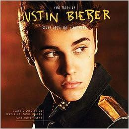 Justin Bieber 2019 Calendar Amazon Fr Livres Anglais Et