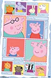 "Trends International Peppa Pig Grid Wall Poster 22.375"" x 34"""