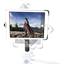 G8 Pro iPad Air 2 (2nd Gen) Tripod Mount + 8 inch Solid Metal Tripod Adapter Pole with 360° Locking Swivel Ball Head Accessory Bundle Kit - Attaches to any 1/4-20 Thread Tripod You Already Use - Simply Snap in iPad and Mount to Tripod