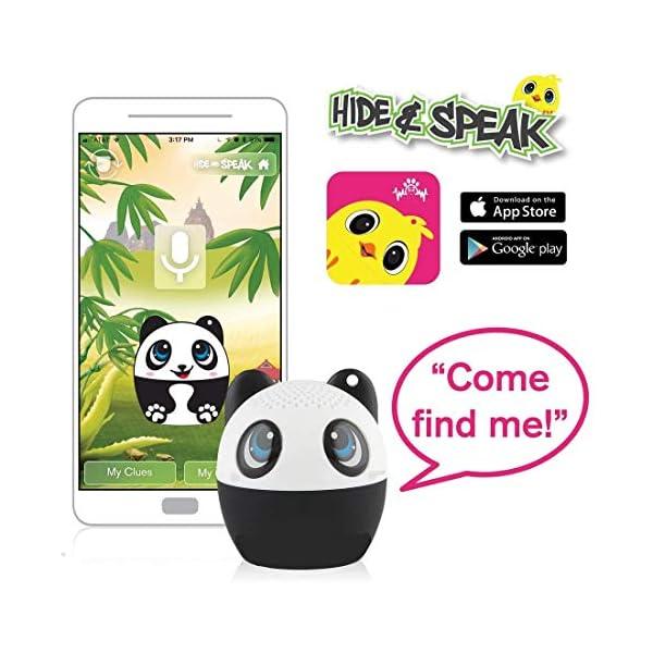TBS2520 Mini Enceinte Bluetooth sans Fil Mini-Animal Panda - Super Mignon - 3 Watts - Fonctions Kit Main-Libre Téléphone & Selfie - Appli pour Jouer - pour iPhone Samsung Huawei etc & Tablette 3
