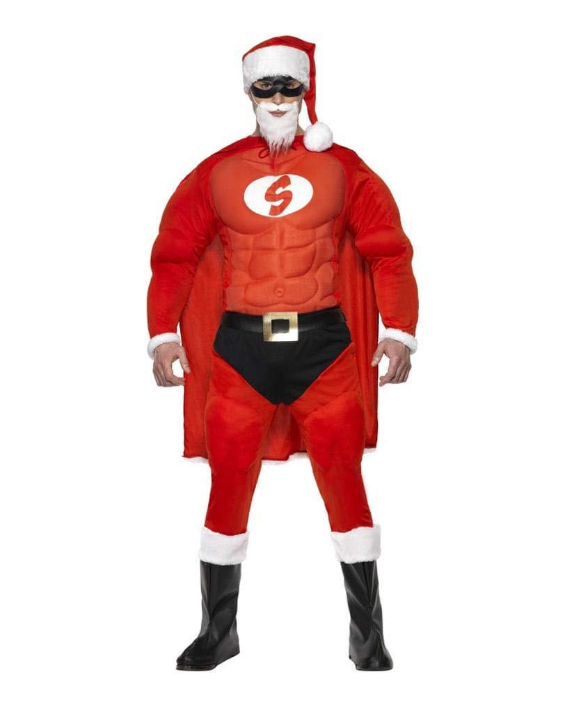 Horror-Shop Super Santa Kostüm Claus Kostüm Santa L 97f7c3