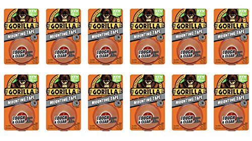 gorilla-6065001-12-double-sided-tough-and-clear-mounting-tape-12-pack-1-x-60-clear