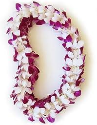 Fresh Hawaiian Lei - Double Orchid Leilani