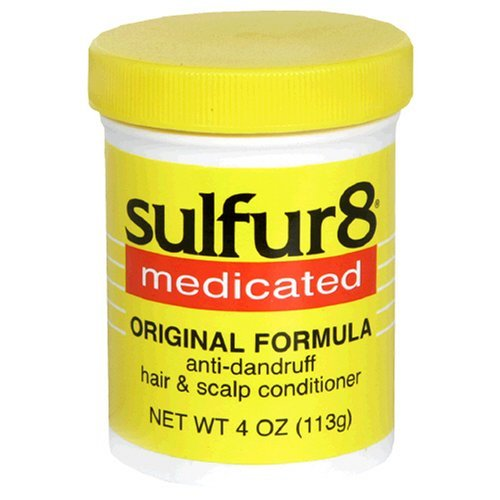 - Sulfur8 Medicated Anti-Dandruff Hair & Scalp Conditioner, Original Formula, 4-Ounce Bottle by Sulfur 8