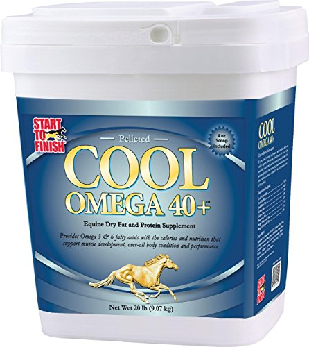 START TO FINISH COOL OMEGA 40+ HORSE SUPPLEMENT - 20 POUND by DavesPestDefense