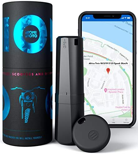 MoniMoto Smart GPS-tracker, alarmsysteem voor motorfiets, scooter, quad, sneeuwscooter (MM1 – EU)