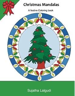 christmas mandalas mandala coloring book christmas mandalas coloring book adult coloring book - Christmas Mandalas Coloring Book