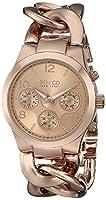 SO&CO New York Women's 5013.3 SoHo Analog Display Quartz Rose Gold Watch from SO&CO MFG