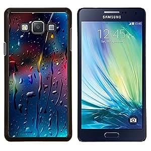 YiPhone /// Prima de resorte delgada de la cubierta del caso de Shell Armor - GOTAS DE COLORES - Samsung Galaxy A7 A7000