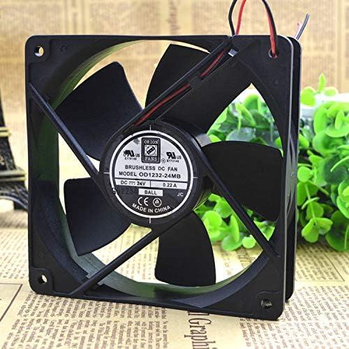 Cytom for OD1232-24MB Fan DC 120X32 24V 107CFM 24V 0.22A Inverter Fan