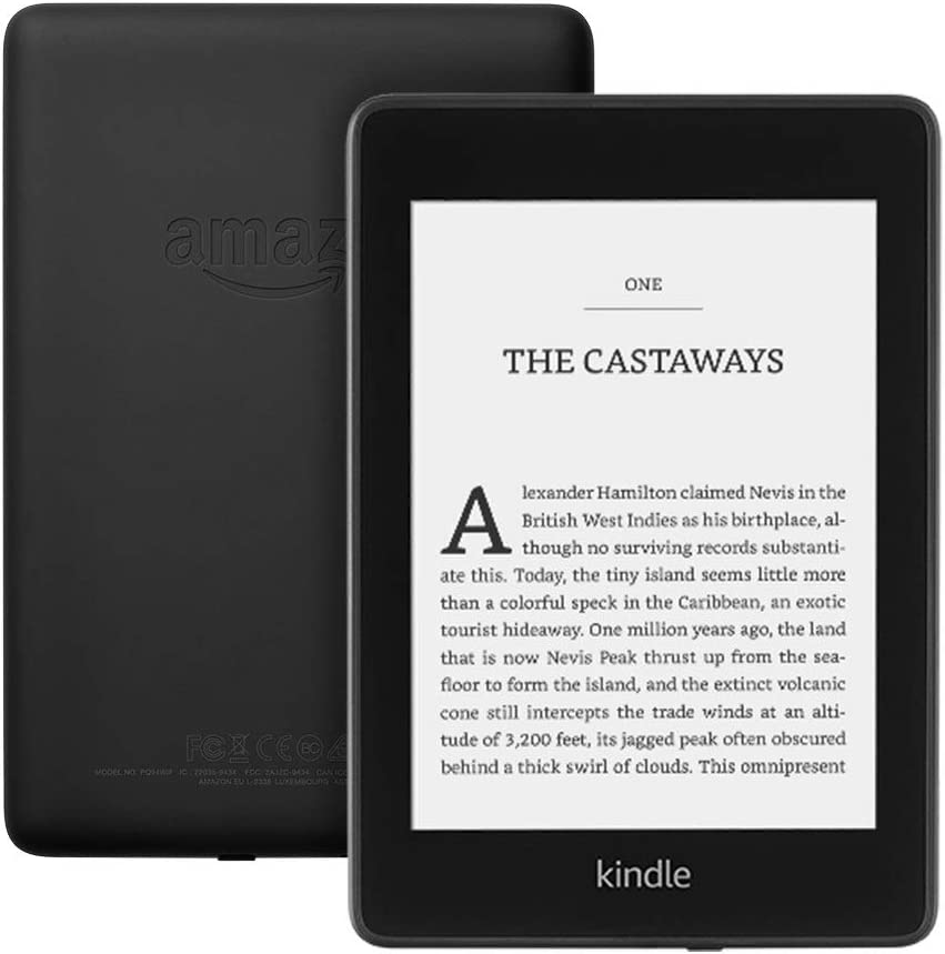 Waterproof 8GB/—without special offers/—Black Kindle Unlimited auto-renewal applies Kindle Paperwhite 6 High-Resolution Display