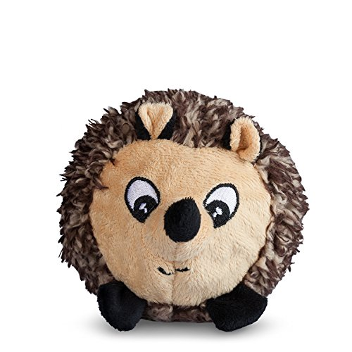 Image of fabdog Hedgehog faball Squeaky Dog Toy (Small)