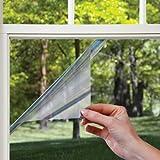 platinum film - Gila 10386589 Platinum Heat Control Peel and Cling Window Film