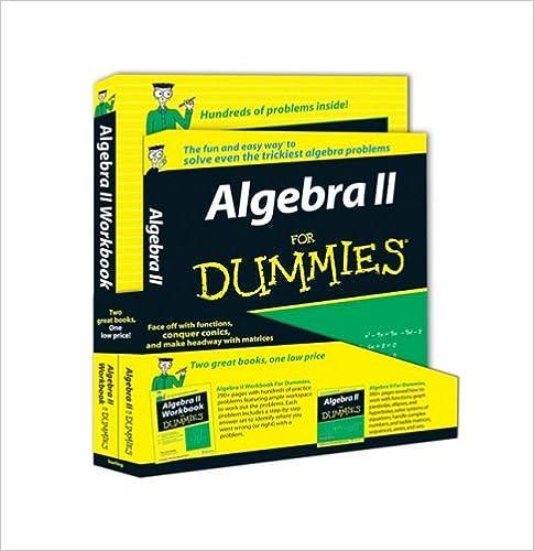 Algebra ii for dummies walgebra ii workbook for dummies mary algebra ii for dummies walgebra ii workbook for dummies mary jane sterling 9780470430989 amazon books fandeluxe Choice Image