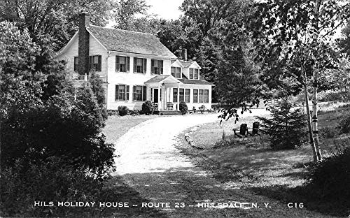 Hillsdale New York Hils Holiday House Real Photo Vintage Postcard JB627101