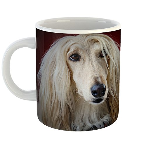 Borzoi Mug (Westlake Art - Coffee Cup Mug - Afghan Hound - Modern Picture Photography Artwork Home Office Birthday Gift - 11oz (x9m-dcc-386))