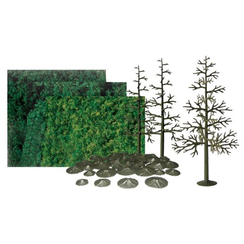 8 Inch Pine Trees - JTT Scenery Products Super Scenic Series: Pine Tree Kit, 8