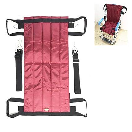 Paciente ascensor escalera tobogán tablero transferencia emergencia evacuación silla sillón de ruedas médico eslinga de elevación