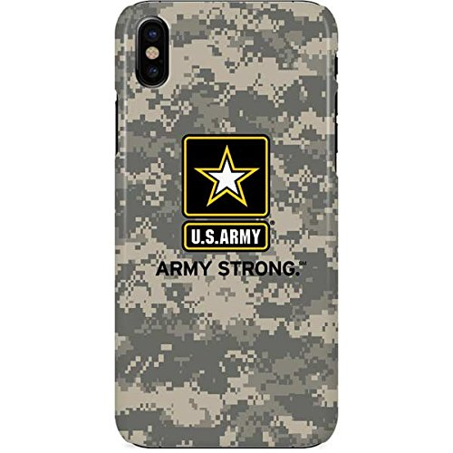sports shoes 79f5f 43490 US Army iPhone X Case - US Army Digital Camo | Military X Skinit Lite Case