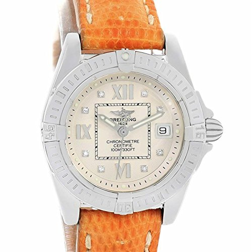 Breitling Windrider quartz womens Watch A71356 (Certified Pre-owned)