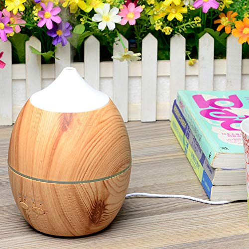 Pangxiannv Air Aroma Humidifier Ultrasonic Air Aromatherapy Essential Oil Diffuser 300ml Wood Aromatherapy Essentials Humidifier Cleaner Air Filter Home Best Air Purifier 2019 Pure Hot Cool Air